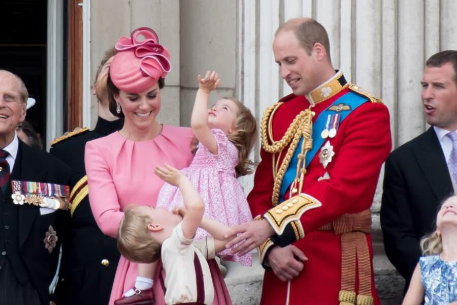 La princesse Charlotte très concentrée