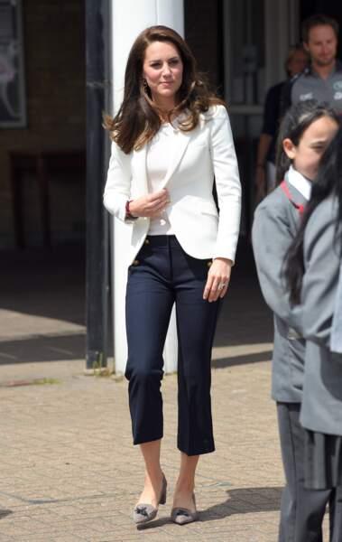 On adore le look de Kate Middleton à Londres le 16 juin dernier