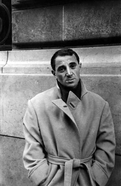 Charles Aznavour dans les années 1950.
