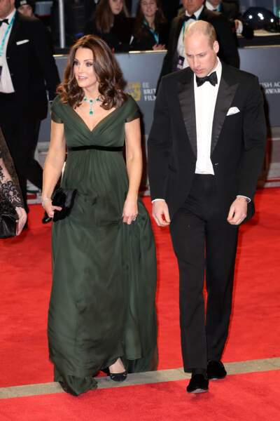 Kate Middleton et le prince William aux BAFTA 2018
