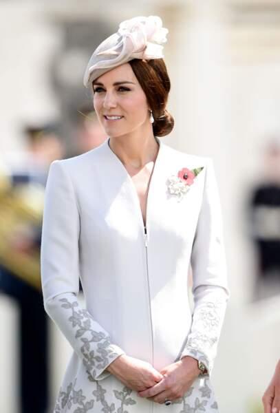 Le chignon royal de Kate Middleton