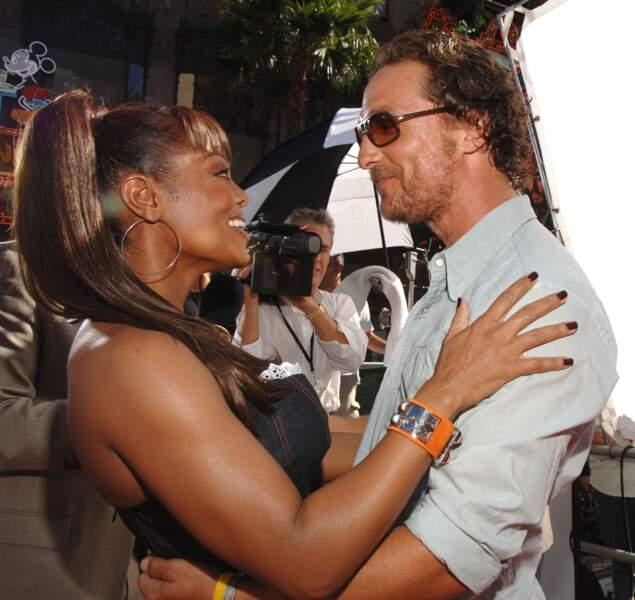 Janet Jackson and Matthew McConaughey en 2006