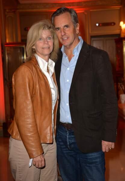 Bernard de la Villardière accompagné de sa femme Anne lors de la 8e édition du prix Meurice pour l'art contemporain