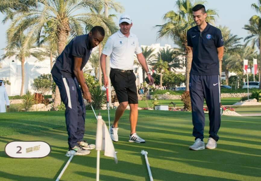 Session golf pour Javier Pastore et Blaise Matuidi