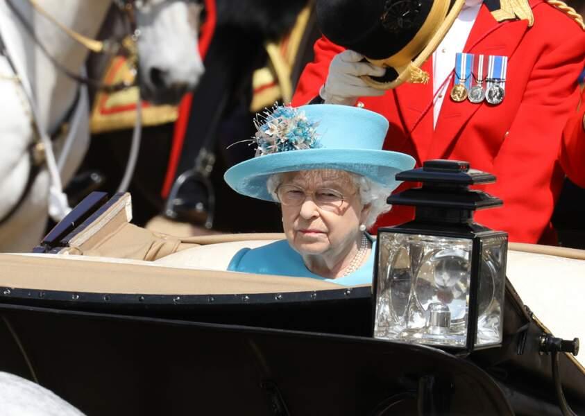 La reine Elisabeth II d''Angleterre le 9 juin 2018