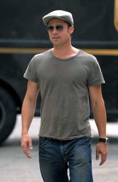 Brad Pitt n'a quasiment pas changé depuis cette photo prise en 2007