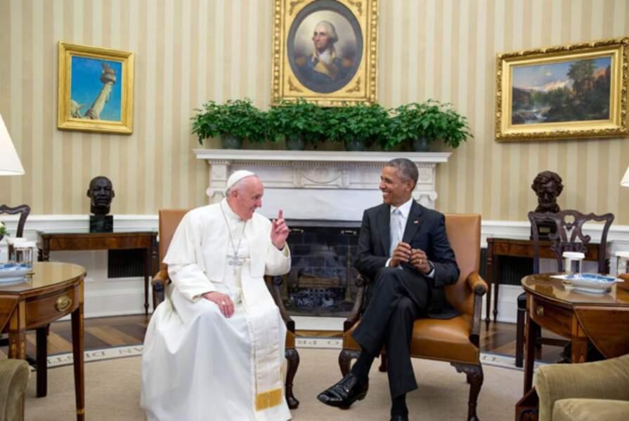 Rencontre avec le pape