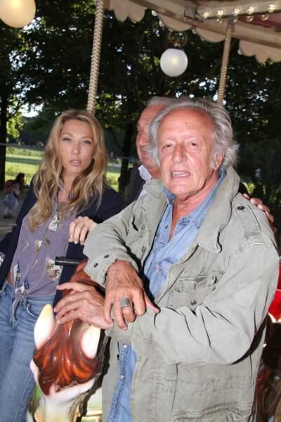 Marcel Campion, Laura Smet, Didier Barbelivien - Soirée d'inauguration de la 35ème fête foraine des Tuileries