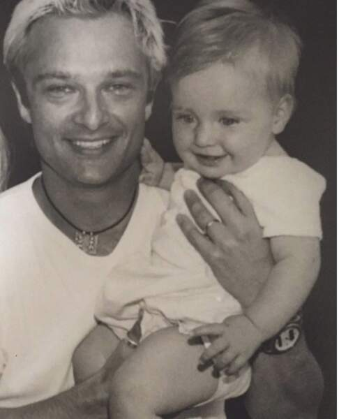 Emma Smet : photo tendresse pour son père David Hallyday