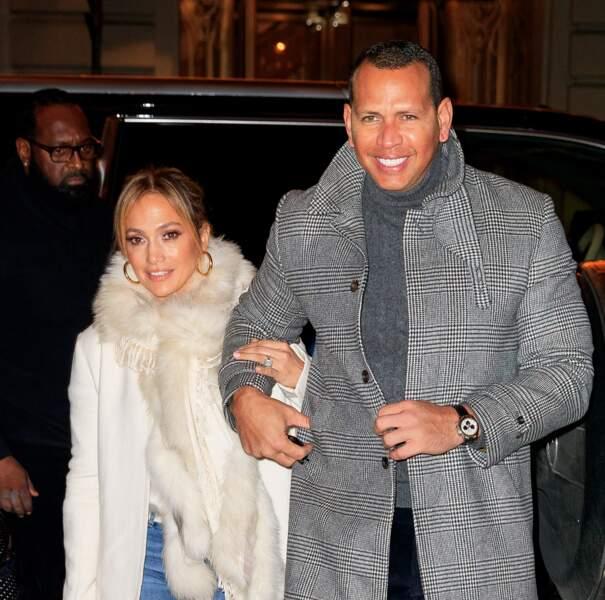 Jennifer Lopez et Alex Rodriguez bras dessus bras dessus, loin des rumeurs d'infidélité