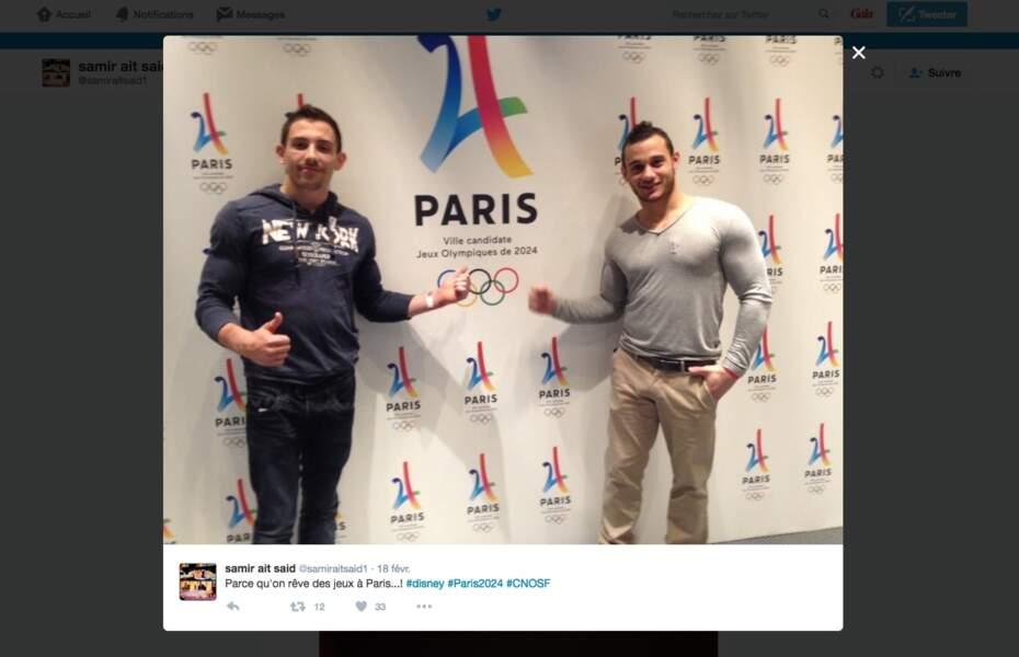 Samir Ait Said conserve un look sportswear