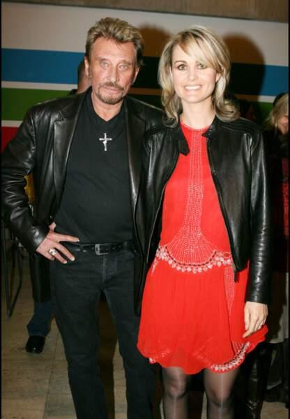 Novembre 2005, le couple au vernissage d'une exposition au profit de l'Unicef.