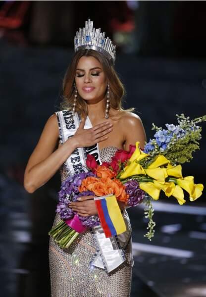 Miss Colombie avant la gaffe