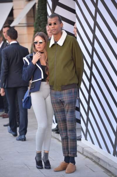 Le duo s'affiche plus volontiers lors des défilés de mode parisiens. Ici, celui de Louis Vuitton, en octobre 2016.