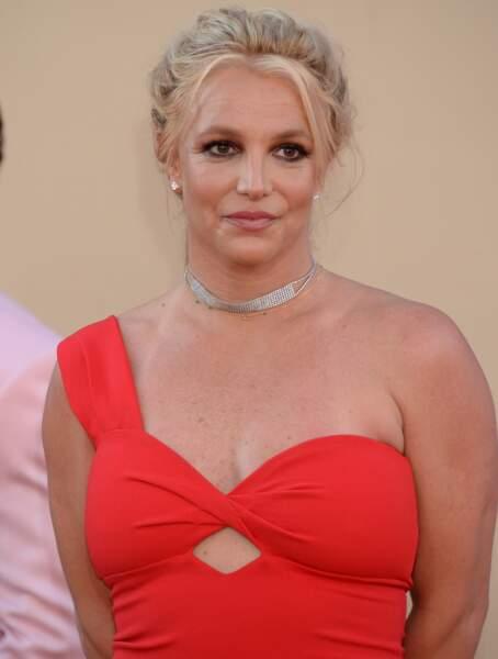 Cela faisait longtemps que Britney Spears n'était pas apparue en public, mais elle semble aujourd'hui aller mieux