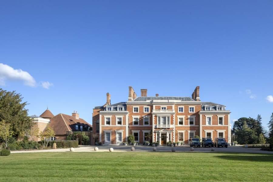 """Le duc et la duchesse de Sussex ont passé trois jours l'hôtel """"Heckfield Place"""" situé dans l'Hampshire"""