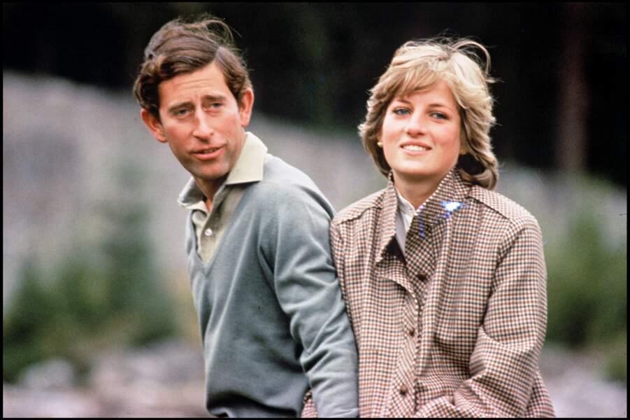 Le prince Charles et Lady Diana en Ecosse en 1981
