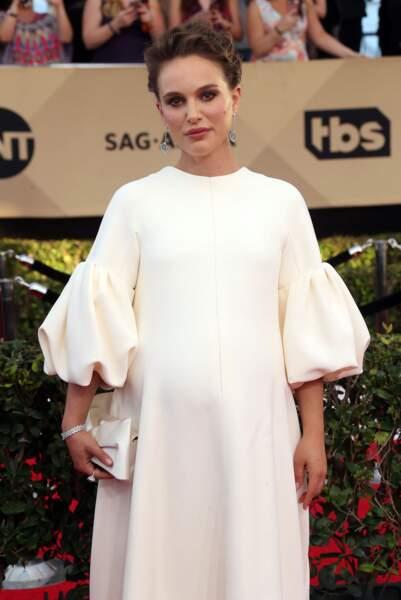 Natalie Portman sur le tapis rouge des SAG Awards