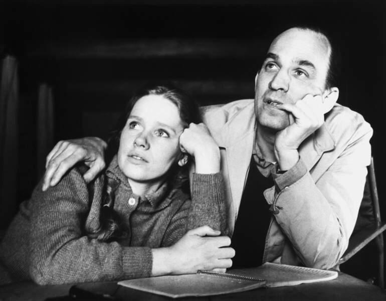 Ingmar Bergman et Liv Ullman (1968)