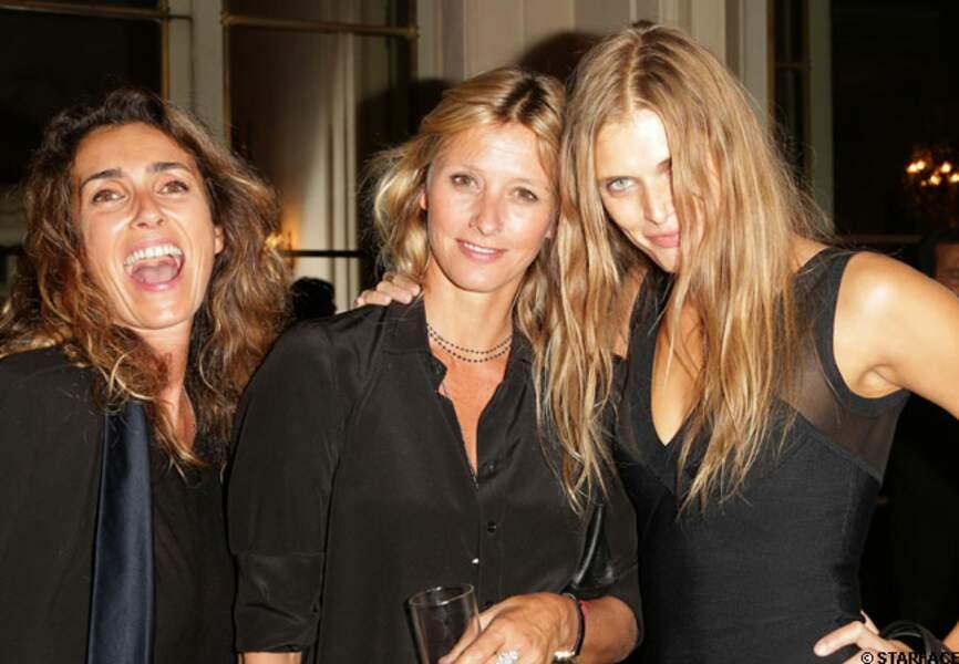 Melle Agnes, Sarah Lavoine et une amie