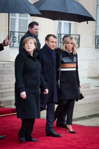 Les Macron ont reçu plusieurs chefs d'Etat.
