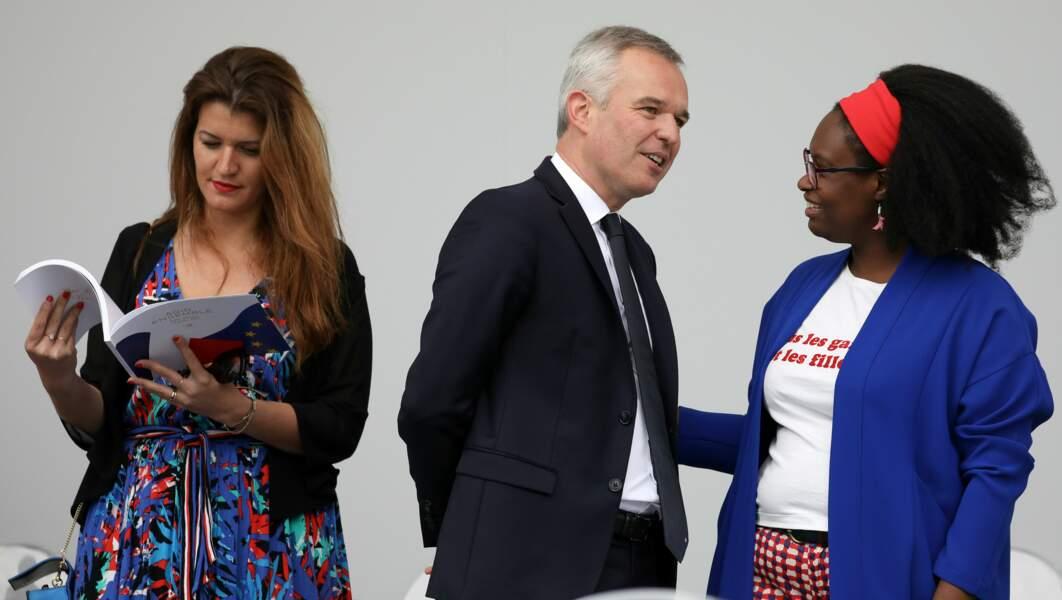 Sibeth Ndiaye a choisi un look étonnant pour cette journée du 14 Juillet