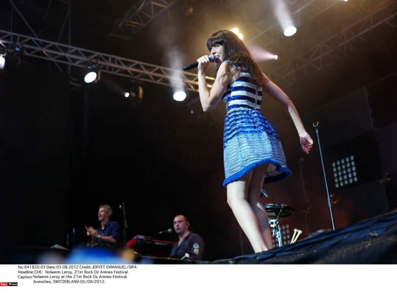 """2012 : une popstar très """"breizh couture"""", sur scène"""