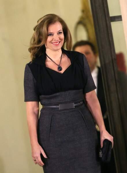 Valerie Trierweiler au diner d'Etat en l'honneur de Mme Dilma Rousseff