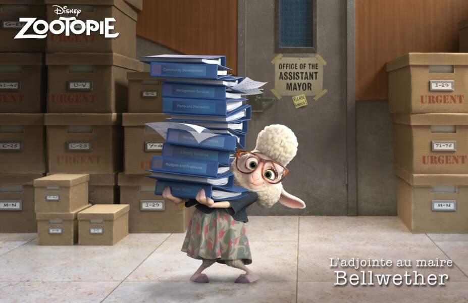L'adjointe au maire Bellwether par Claire Keim