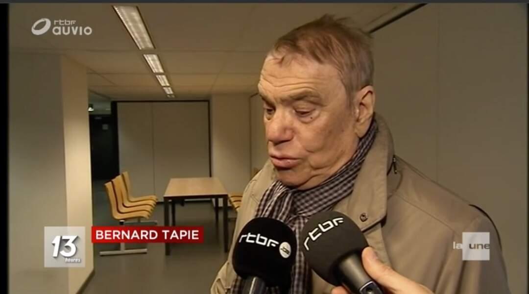 Bernard Tapie : 1e apparition à la télévision belge depuis l'annonce de son cancer