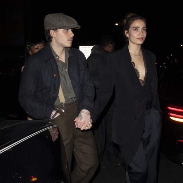 Brooklyn Beckham and Hana Cross