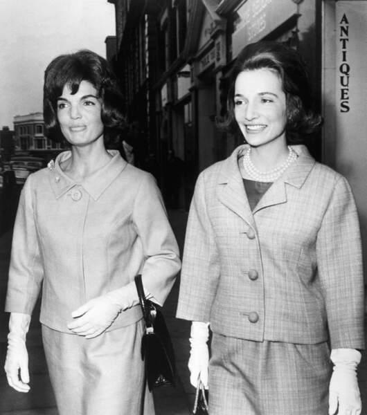Jackie et sa sœur Lee, stylée et rivales toute leur vie
