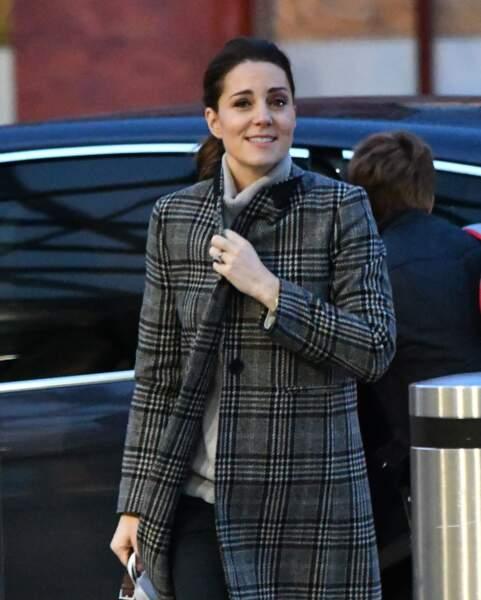 Elle se rendait à Nottingham où le prince Harry et Meghan ont fait une apparition