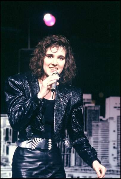 Céline Dion débute sa carrière dans les années 80