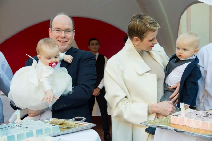Le 10 décembre marquait le premier anniversaire de Jacques et Gabriella de Monaco