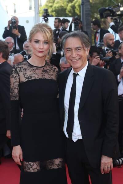 Le couple monte les marches de Cannes en 2017