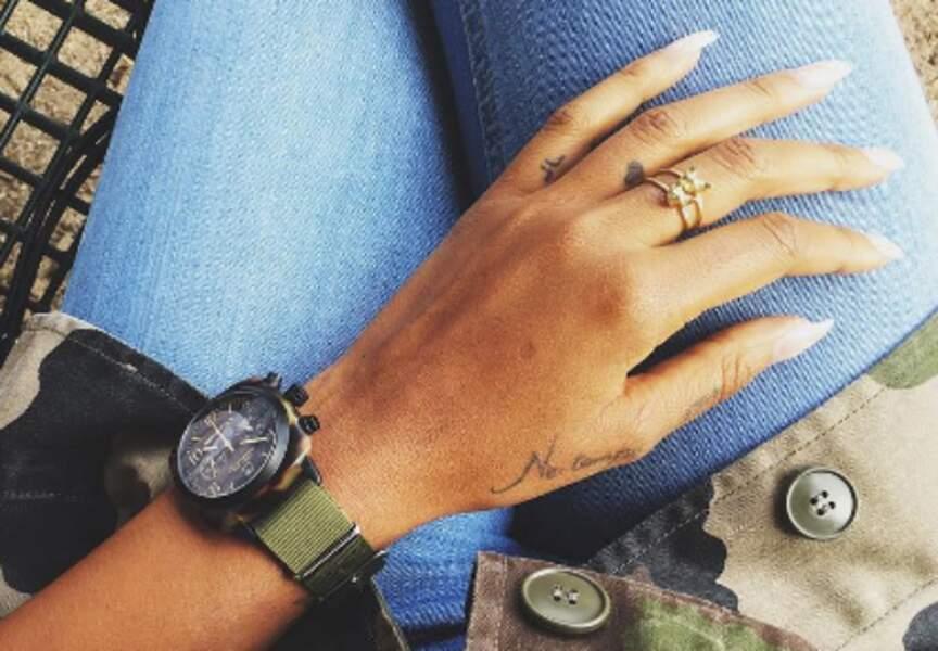 Shy'm et les tatouages, elle ne s'arrête plus !