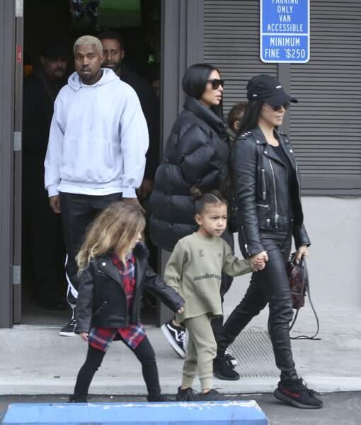 Kim Kardashian : ses enfants, North et Saint, ont bien grandi