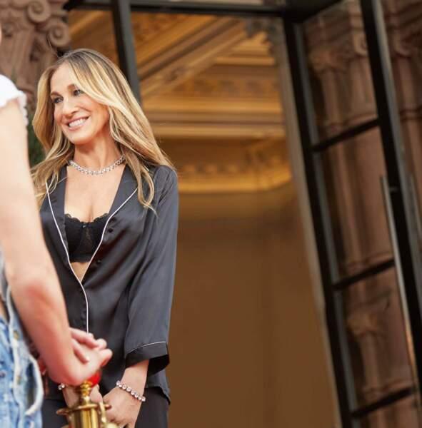 Sarah Jessica Parker devient ambassadrice de la marque italienne Intimissimi
