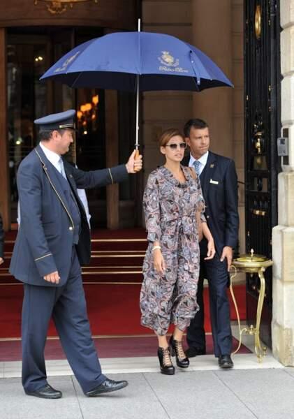 Stars internationales se bousculent pour réserver au Ritz. Ici Eva Mendes
