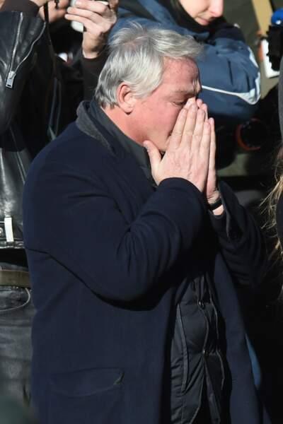 Il était présent à la Madeleine pour l'hommage populaire...