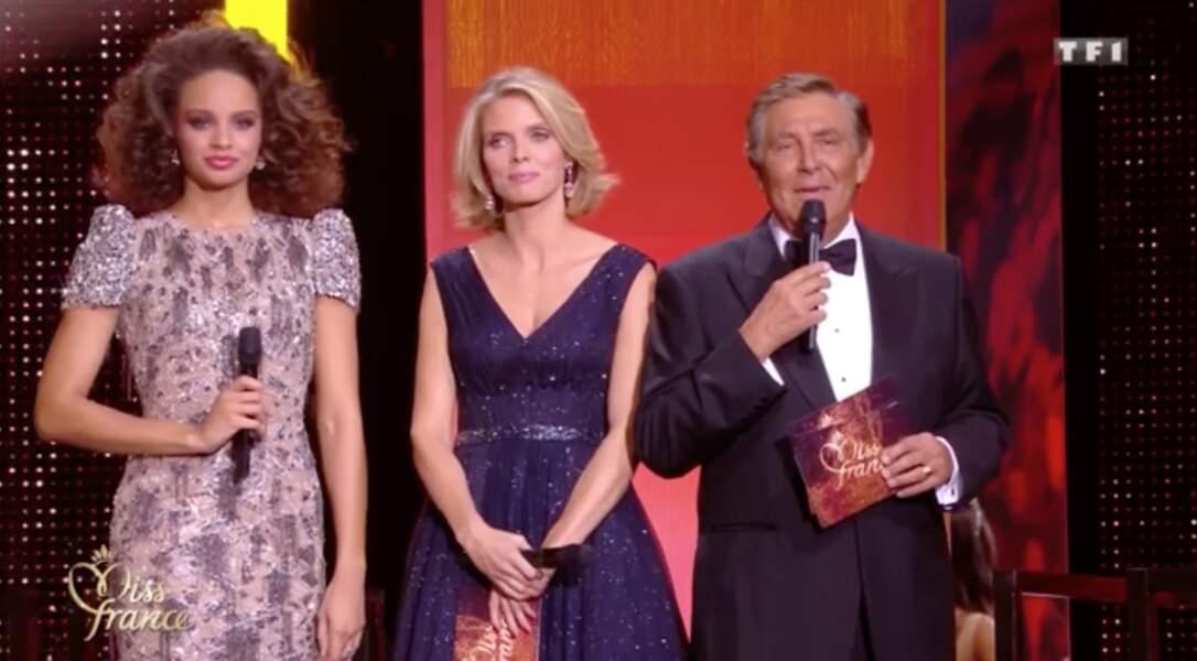 Jean-Pierre Foucault et Sylvie Tellier le 15 décembre 2017
