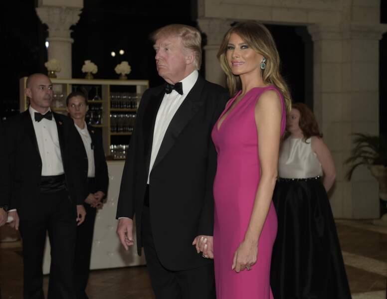 Melania Trump: depuis l'investiture, ses premiers geste d'amour pour Donald