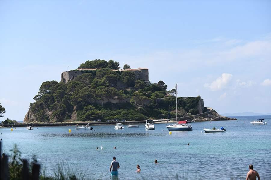 Le Fort de Brégançon, lieu de résidence des présidents de la République.