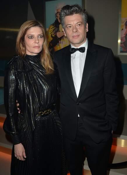 Les acteurs Chiara Mastroianni et Benjamin Biolay lors du 72e festival de Cannes, le 19 mai 2019.