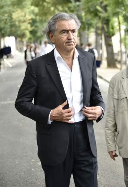 Bernard-Henri Lévy est venu faire un dernier adieu à Claude Lanzmann lors de ses funérailles