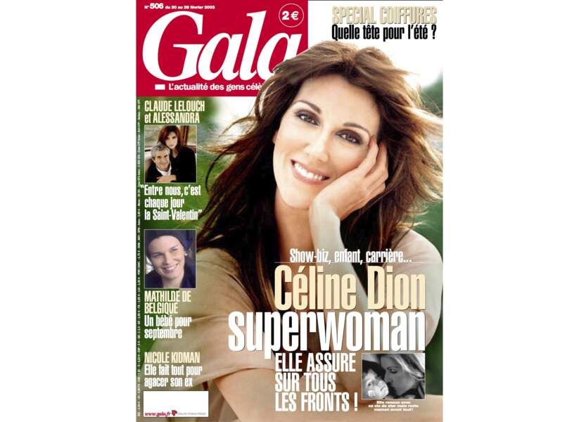 Céline Dion superwoman, elle assure sur tous les fronts