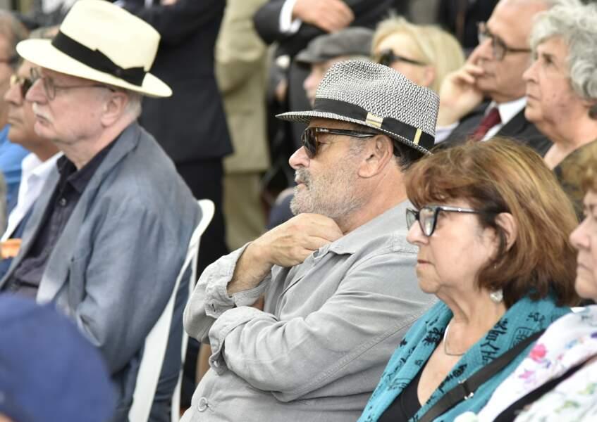 Jean Benguigui aux obsèques de Claude Lanzmann à Montparnasse le jeudi 12 juillet