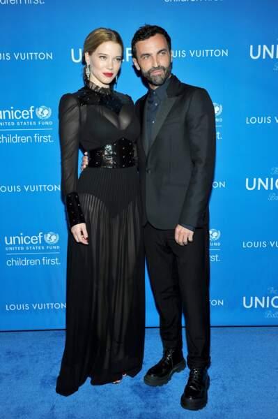 Léa Seydoux et Nicolas Ghesquière