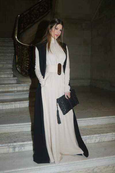 Iris Mittenaere en sublime robe longue
